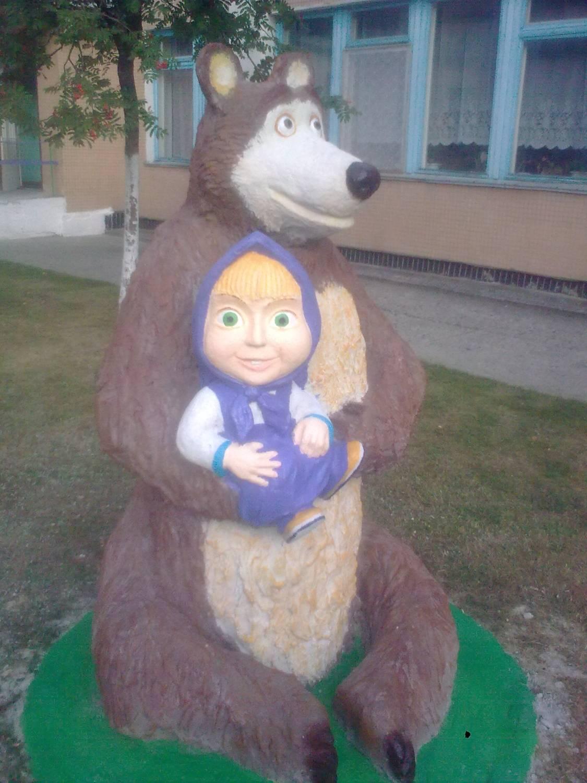 Медведь из монтажной пены пошаговое